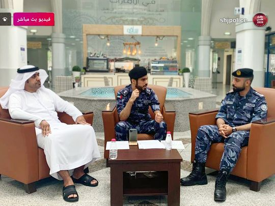 NAT 200729 Sharjah Police launch awareness campaign on tyre safety-1596013113187