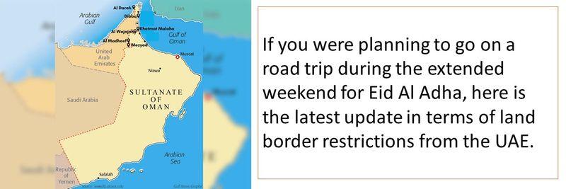 Planning a road trip to Oman or Saudi Arabia? Think again
