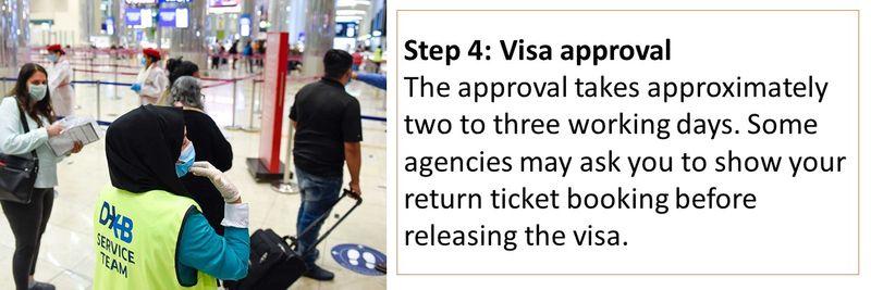 Step 4: Visa approval