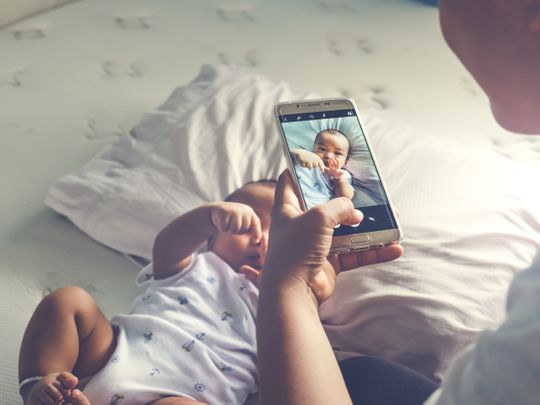 Things to think about before posting pictures of your kids online