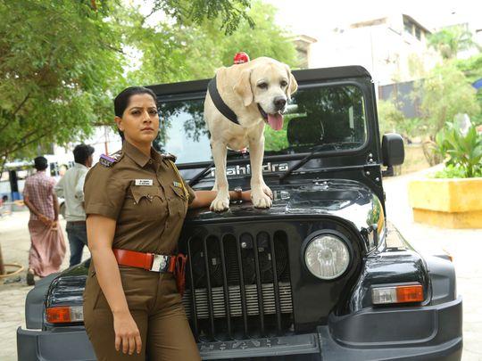 Varalakshmi Sarathkumar and Danny 2-1596013629675