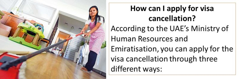 2. Apply for visa cancellation