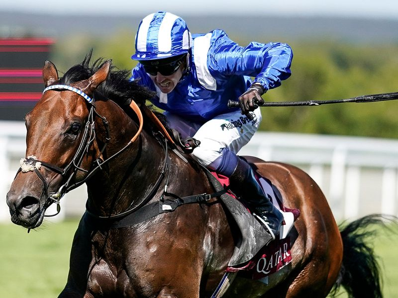 Battaash and Jim Crowley win the King George at Goodwood for a fourth time