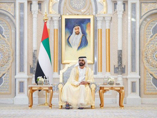 His Highness Sheikh Mohammed bin Rashid Al Maktoum, Vice President, Prime Minister and Ruler of Dubai
