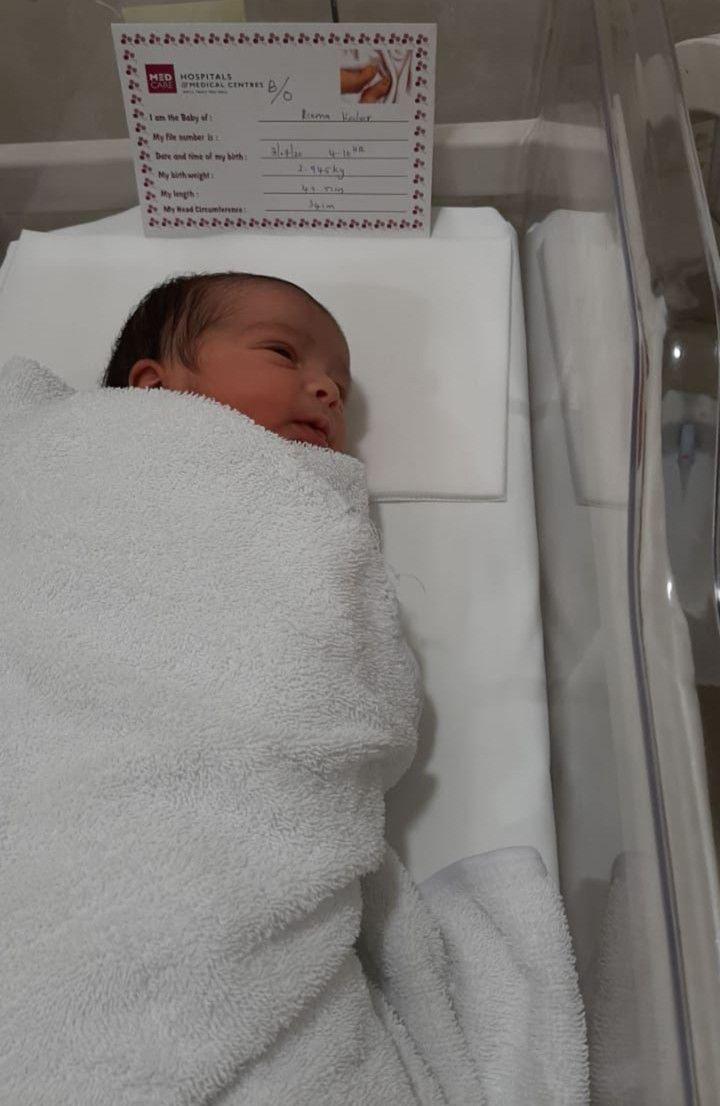 NAT 200731 Baby girl of Mr Balpreet Singh & Mrs Reema Kochar 02-1596177643674