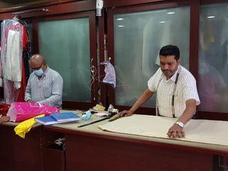 NAT 200731 Mohammad Nasir Khan at Dreamgirl Tailors, Satwa-1596182013153