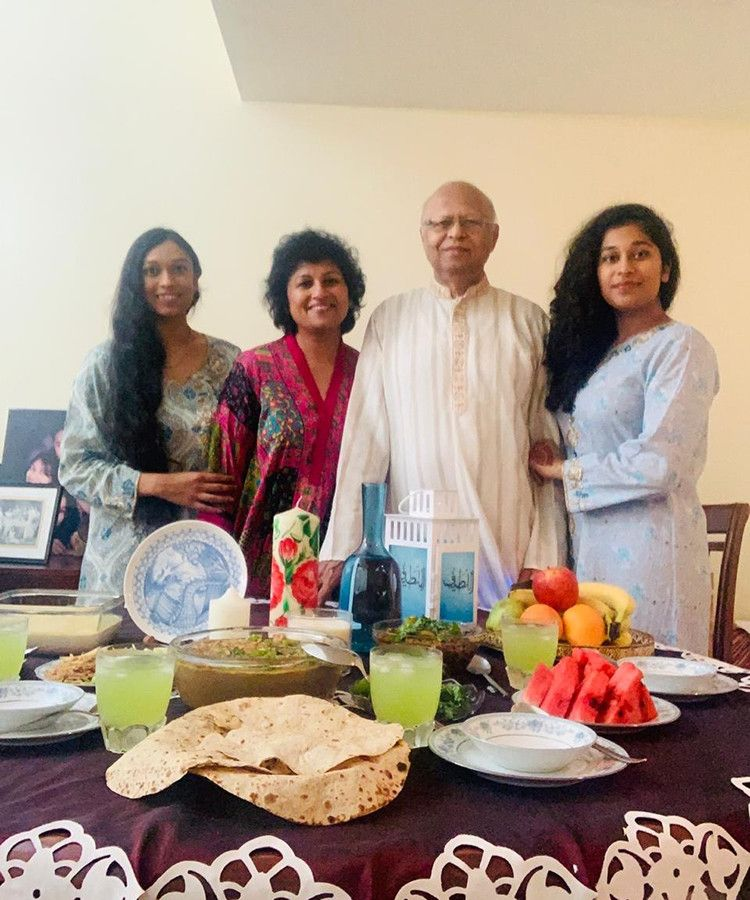 NAT AK Yoshita Ahmed and her family-1596176482758