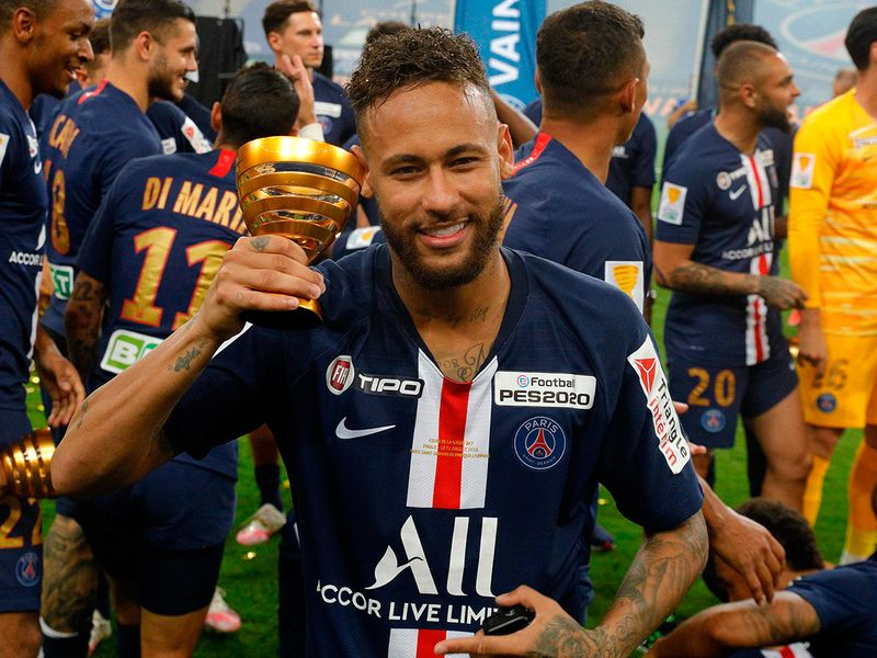 Paris St Germain completed a domestic treble as they beat Olympique Lyonnais 6-5 on penalties to lift the French League Cup on Friday with the match ending in a 0-0 stalemate after regular and extra time.