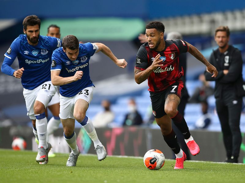 Everton are in for Bournemouth's Joshua King