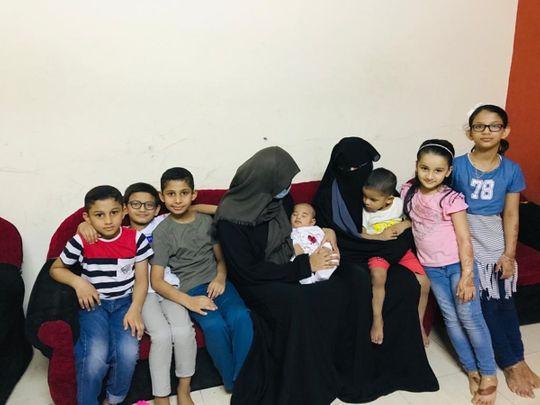 NAT Mubshira and Jumana with their children-1596353259038