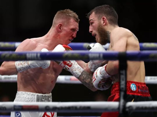 Ted Cheeseman edged a 12-round win in a tough, back-and-forth fight with Sam Eggington