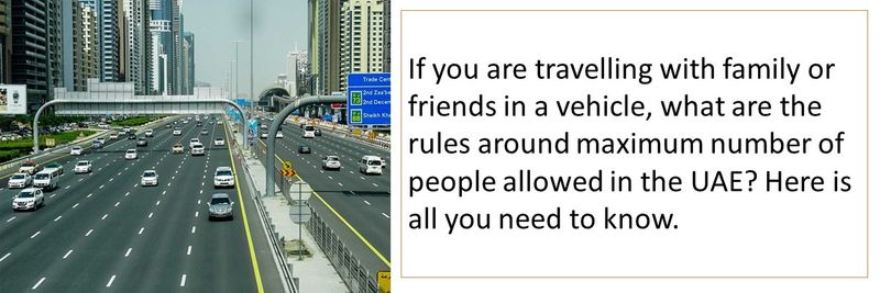 what are the rules around maximum number of people allowed in the UAE