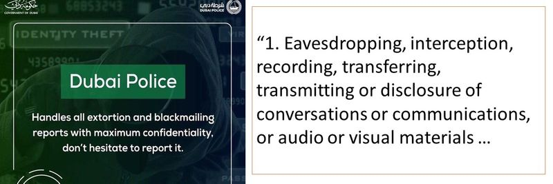 Eavesdropping, interception, recording, transferring, transmitting or disclosure of conversations or communications