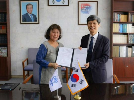 South Korea donates $1 million for Afghan refugees in Pakistan