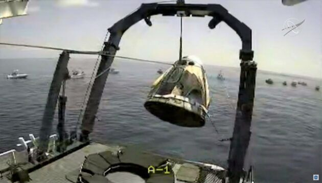 Nasa Crew Dragon SpaceX