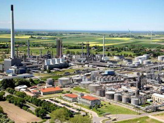 WIND TO HYDROGEN PROJECT Heide oil refinery in northwest Germany