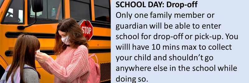 What your child's school day will look like
