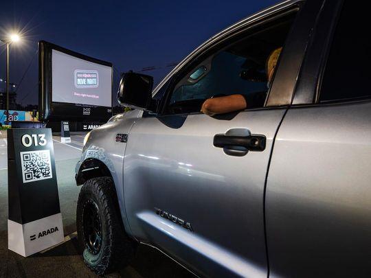 Al Jada drive in cinema
