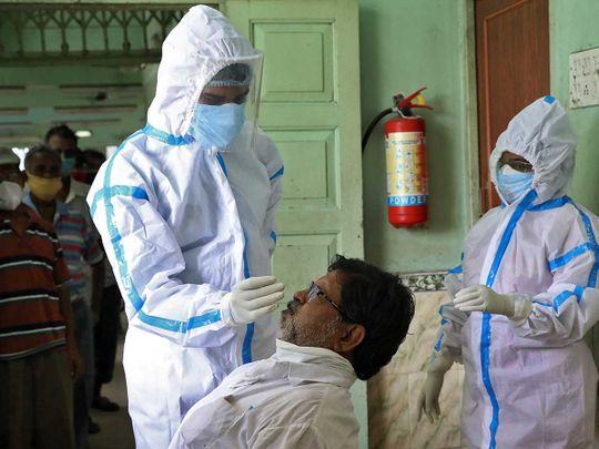PPE healthcare worker Kolkata India