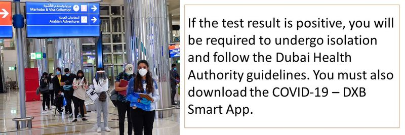 You must also download the COVID-19 – DXB Smart App.