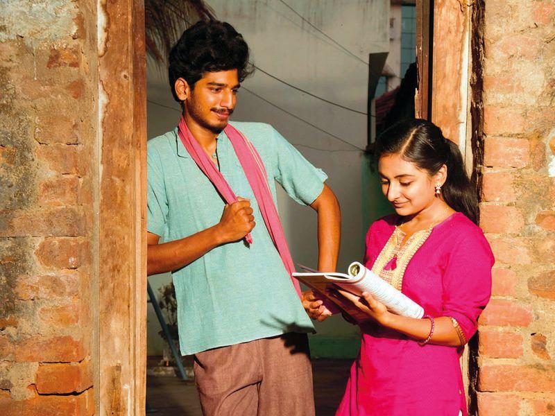 Ankith Koya and Esther Anil in Johaar