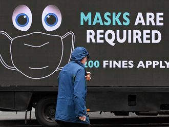 Melbourne mask sign australia