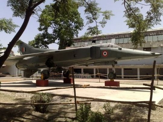 MiG on AMU campus in India