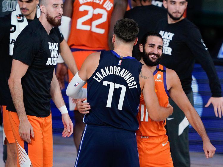 Nba Luka Doncic On Fire As Mavericks Trip Sacramento Kings Sport Gulf News