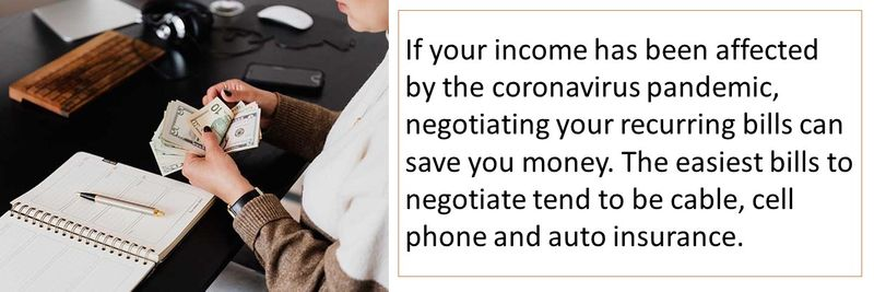 Tips to renegotiate your monthly payments after a pay cut