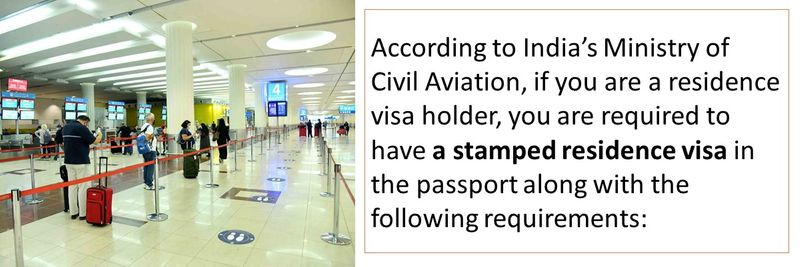 you are required to have a stamped residence visa in the passport