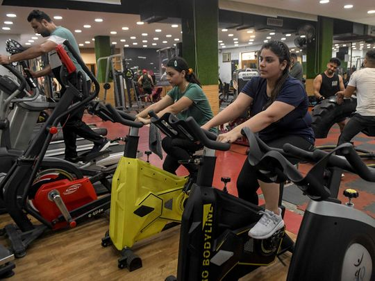 Gyms Yoga Institutes Reopen In India News Photos Gulf News