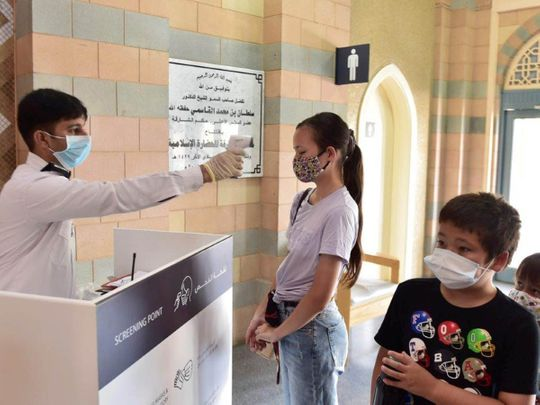 Residents enjoy visiting museums during Eid break