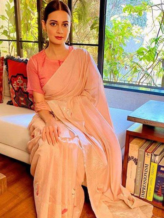 Bollywood stars in saris