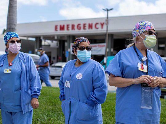 California Healthcare workers US