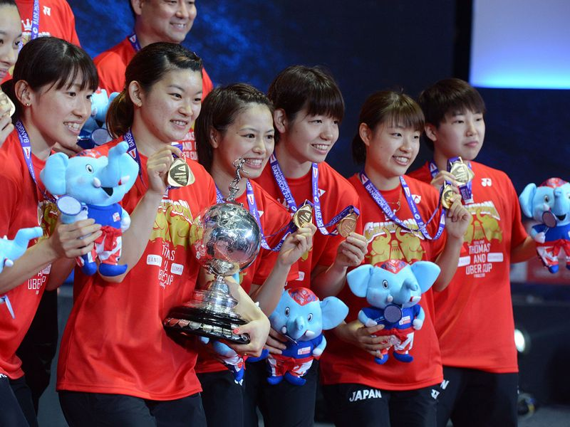 Japan are favourites for this year's Uber Cup as defending champions