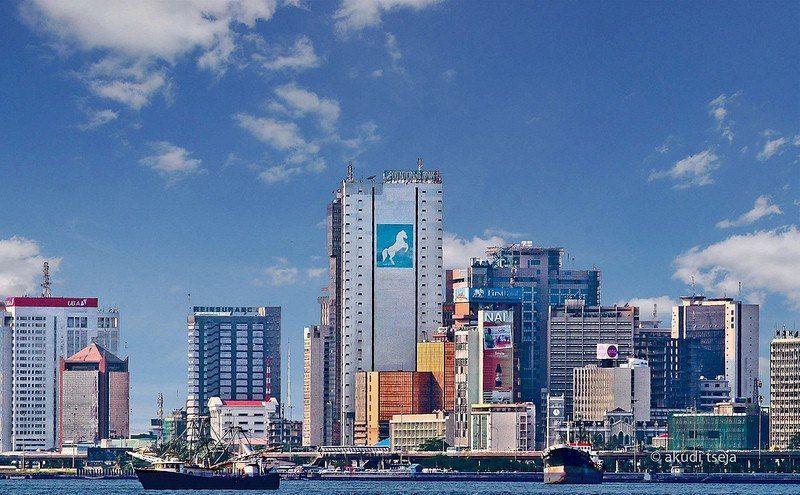 Lagos, Nigeria skyline Lagos skyline