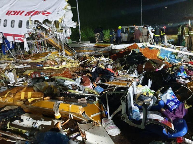 Dubai-Kerala plane crash: Air India Express plane skids off runway in India