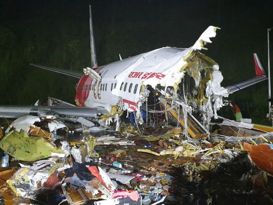 Dubai-Kerala plane crash: Air India Express plane skids off runway in India