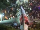 Exclusive footage of Air India flight IX1344 crash site