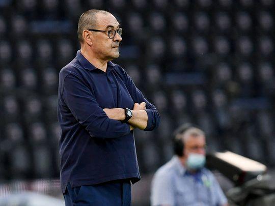 Juventus have sacked manager Maurizio Sarri