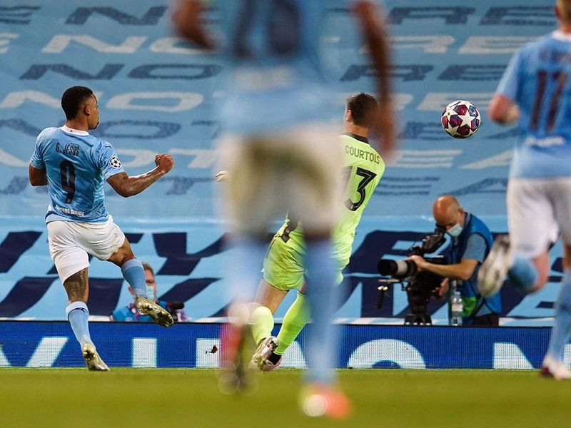 Manchester City defeated Real Madrid in the Champions League