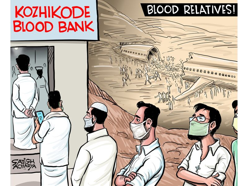 2. Satish Acharya Cartoon August 12