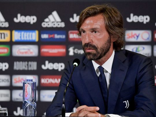 Andrea Pirlo is the new Juventus coach