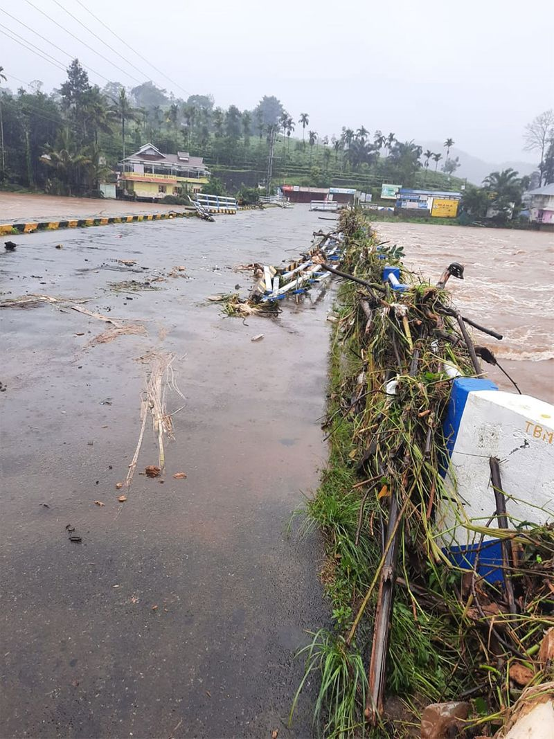 At least 15 persons were killed after a river of mud and debris washed over lines of settlements of tea plantation workers near the popular hill station of Munnar in Kerala's Idukki district Friday.