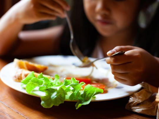 Healthy food kids