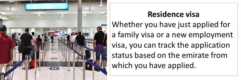 How you can track your UAE residence visa application
