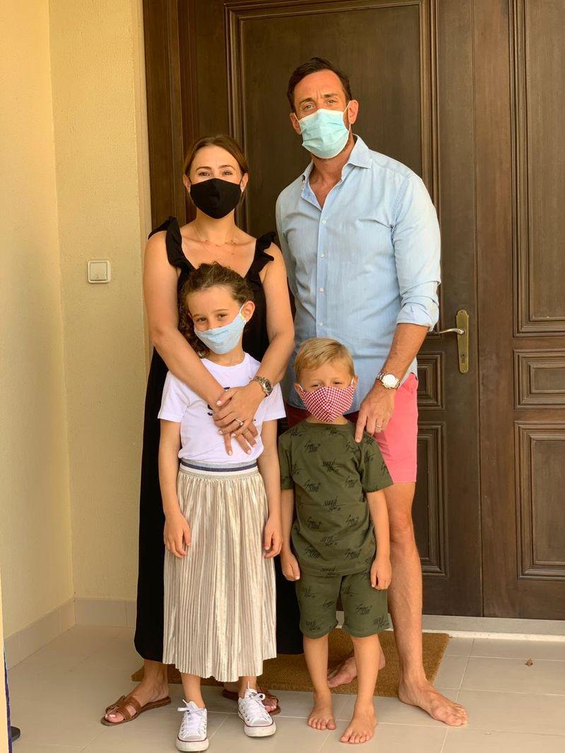 Katy Rice and family
