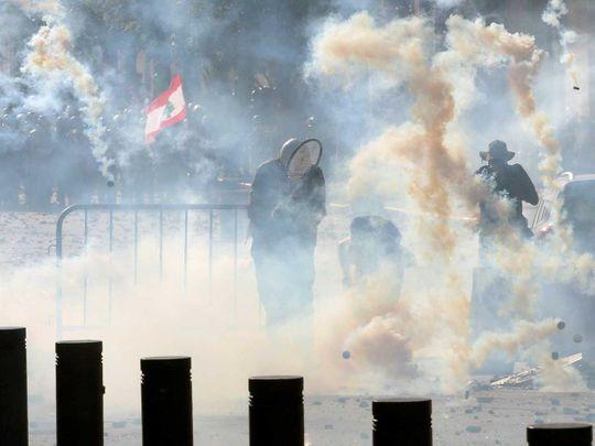 LEBANON-BLAST-PROTESTS