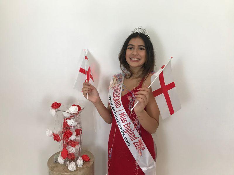 Rysa Saujani as a Miss England 2020 hopeful