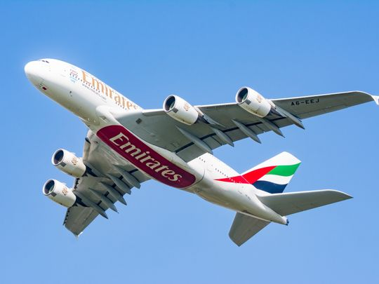 Stock Emirates aircraft airlines